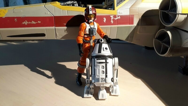 red four pilote droid