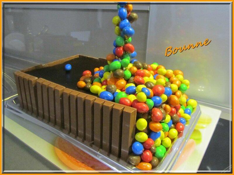 Gravity cake ou gâteau suspendu (11)