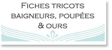 2) Fiches tricots