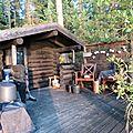 Puumala, le sauna