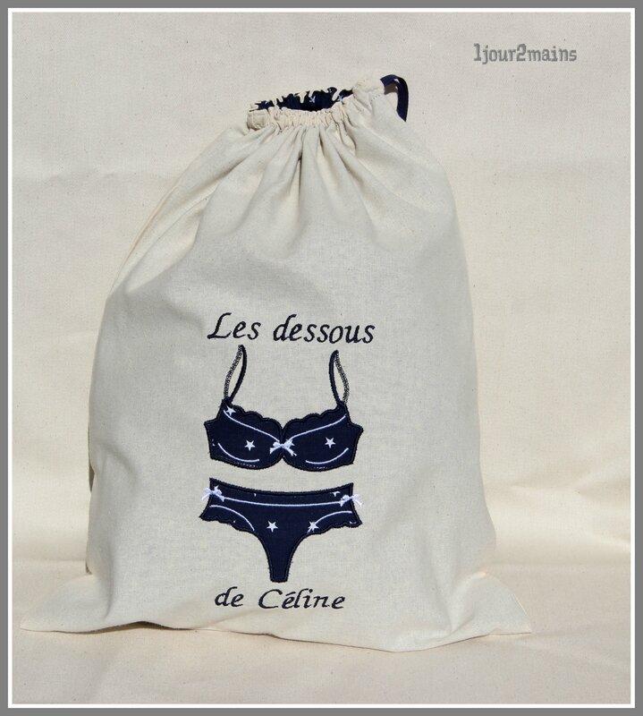 sac lingerie Céline