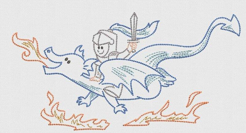 chevalier et dragon 4