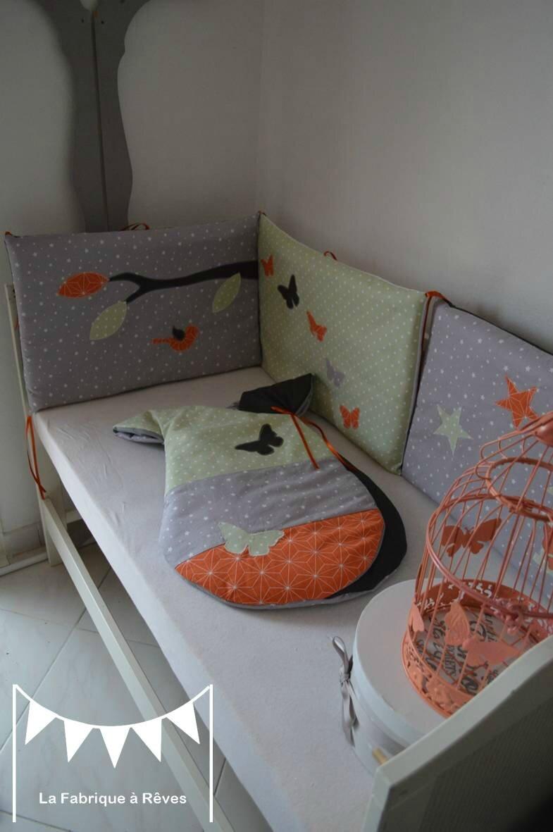 orange chambre bebe. Black Bedroom Furniture Sets. Home Design Ideas