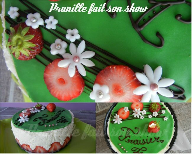 collage fraisier prunillefee