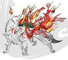 okami_on_fire