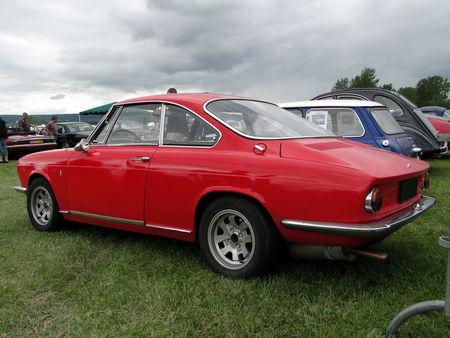 SIMCA 1000 Coupe 1962 1967 Retro meus Auto Lac de Madine 2010 2