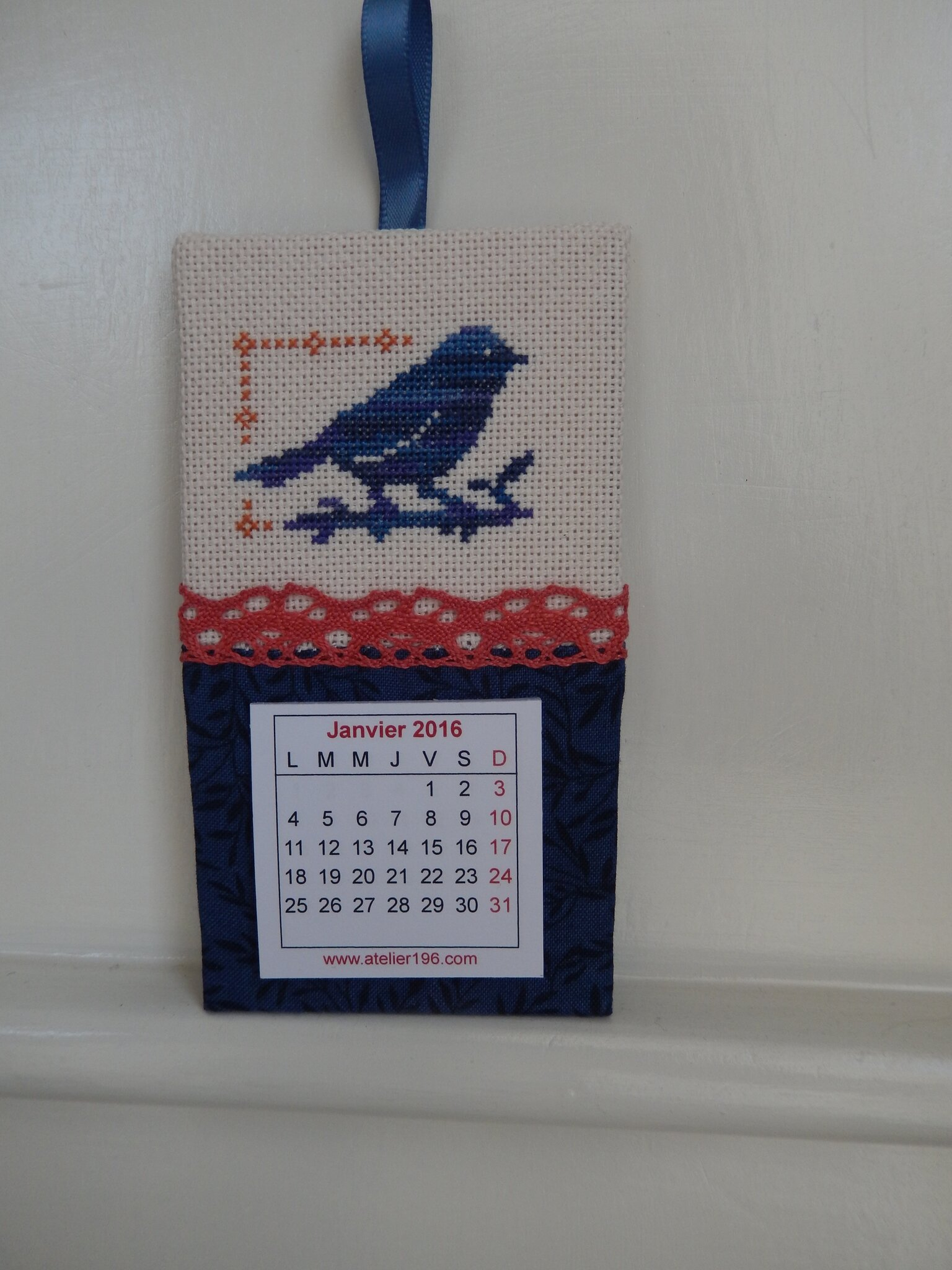 calendrier 2016 the little stitcher