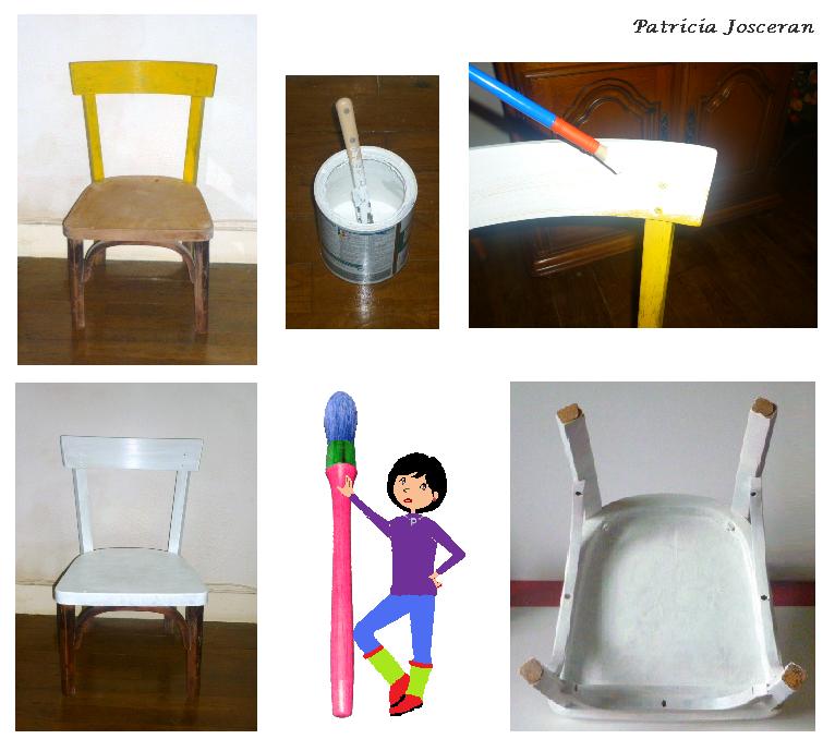 02 chaise blanc