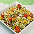 Salade de calamars à la mangue
