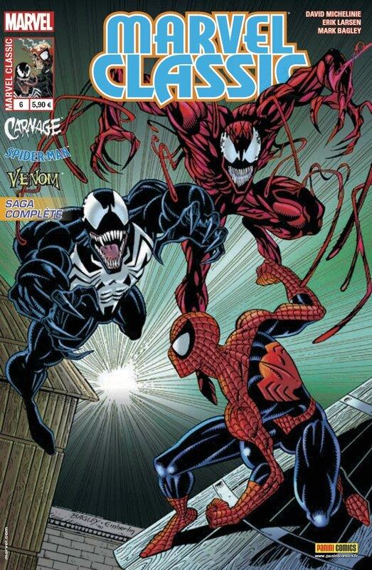 marvel classic V2 06 spiderman carnage