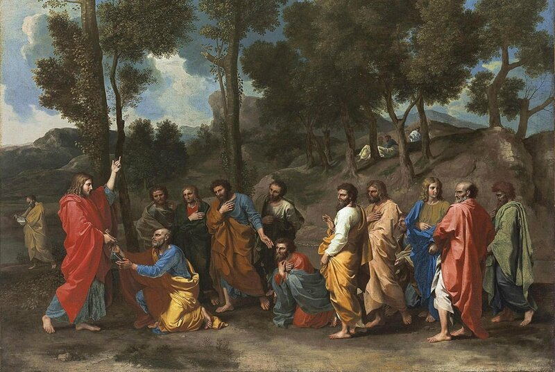 Nicolas Poussin, L'Ordre, Fort Worth, Kimbell Art Museum