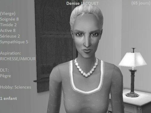 Denise Jacquet (65 jours)