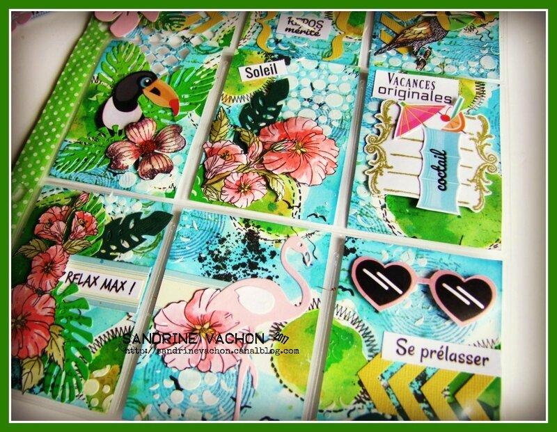 Sandrine VACHON Pocket letter REVE DE VACANCES (6)