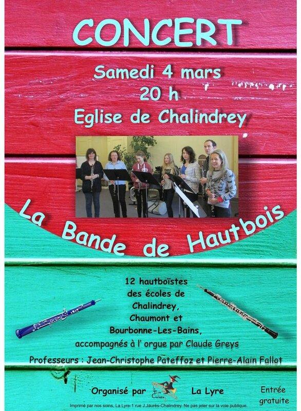 concert hautbois