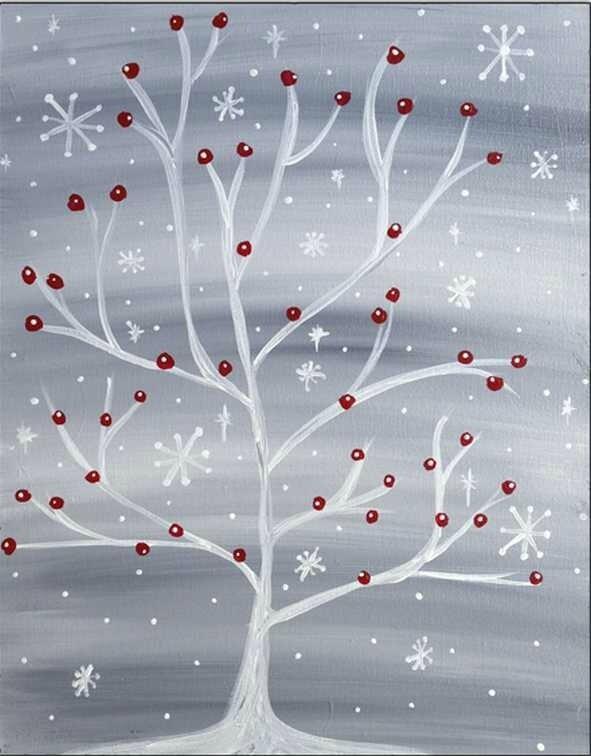 Winter-Snowflake-Tree