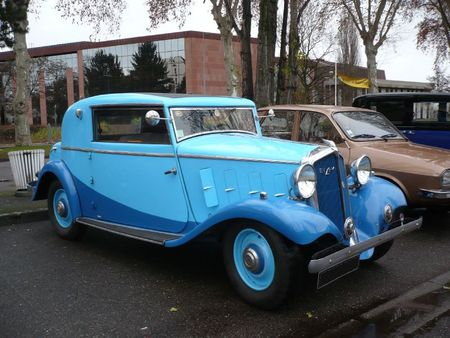 MATHIS EMY 4F coupé Deauville 1933 Strasbourg - PMC (1)