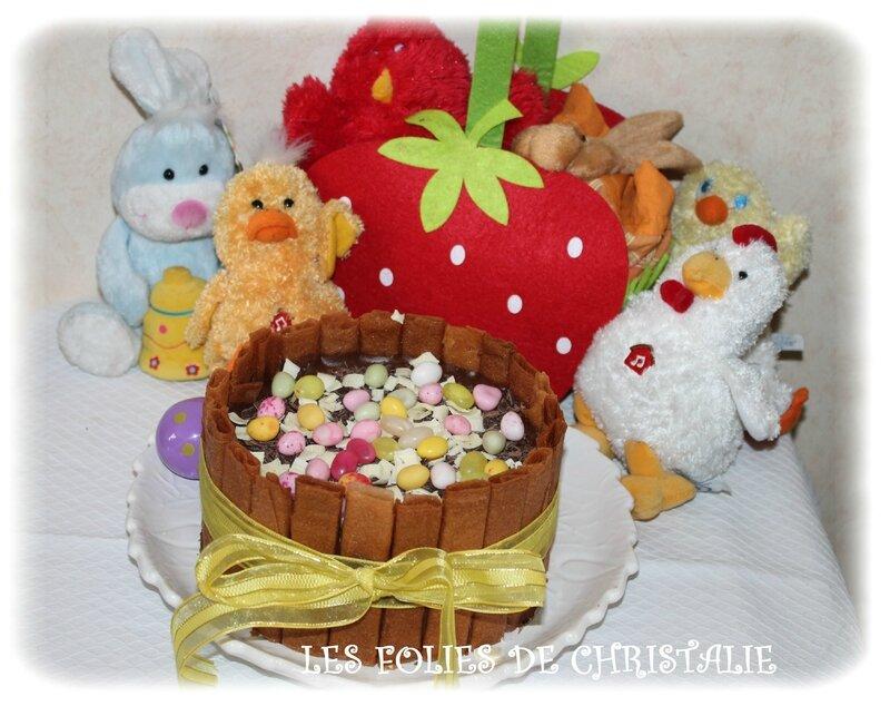 Gâteau Pâques 2