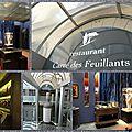 Déjeuner spécial au carré des feuillants à paris