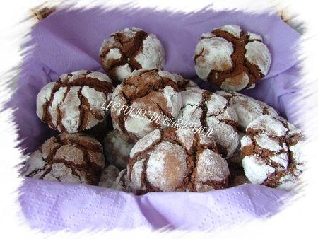 Biscuits craquelés au chocolat 13