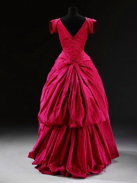 Balloon Gown, Balenciaga, 1953-1954