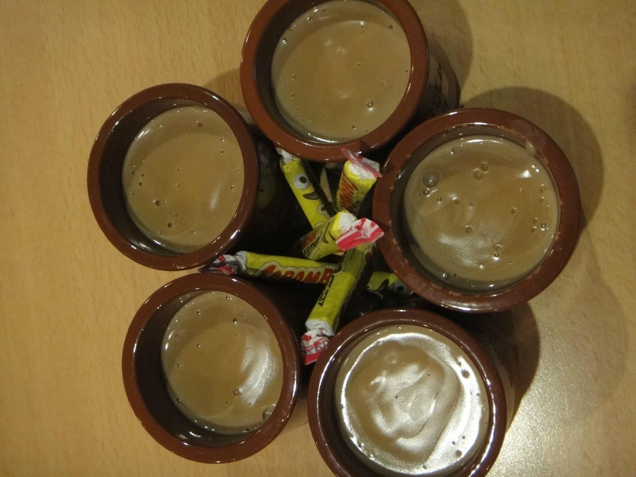 Crème dessert aux carambars