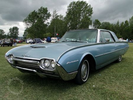 Ford thunderbird hardtop coupe 1962 Retro Meus Auto Madine 2011 1