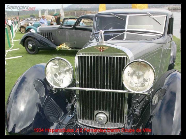 1934 - Hispano Suiza J12 Fernandez Darrin Coupe de Ville - 8