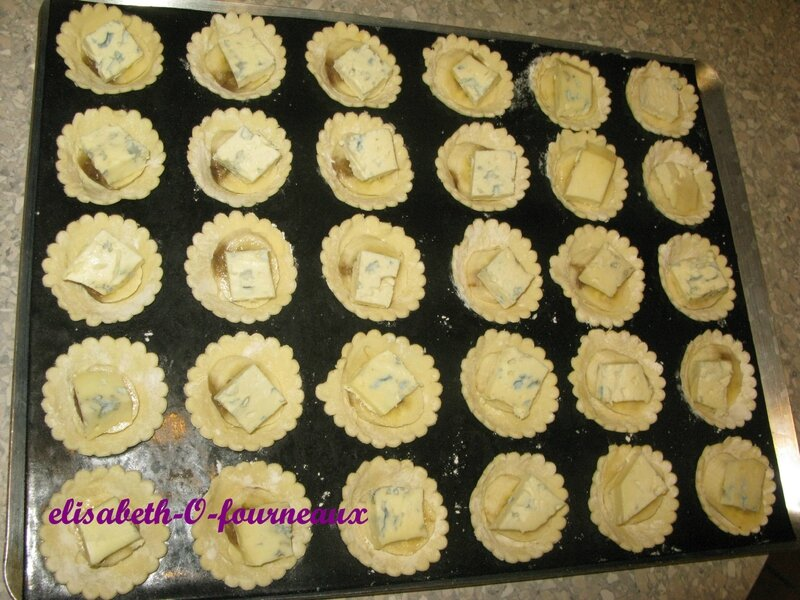 Mini tartelette ambert