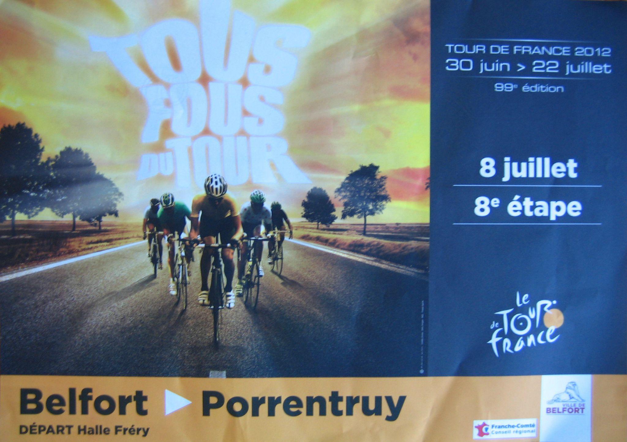 8 juillet 2012 Saint Thibaut au Tour de France