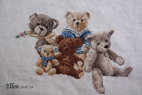 famille ours juillet 14