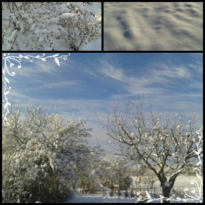 page neige