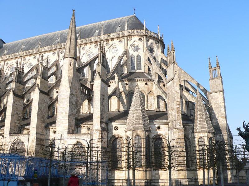Cath drale saint etienne de bourges bigmammy en ligne - Une cathedrale gothique ...