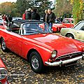 Sunbeam alpine convertible serie IV (Retrorencard novembre 2011) 01