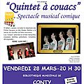 Spectacle musical comique !