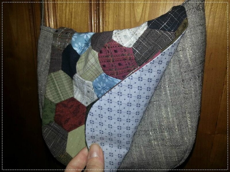sac inmapatchwork doublure