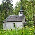 Chapelle SAINT NICOLAS au dessus de KRUTH