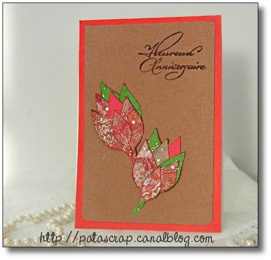 carte boutons floraux