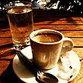 pause café estivale.