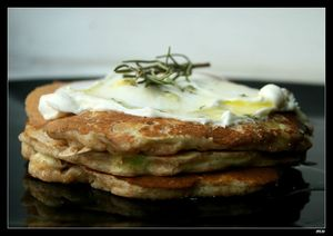 panacakes courgette