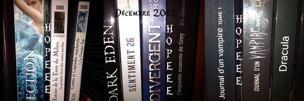 Lecture et achats Décembre