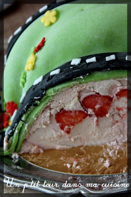 Gâteau circuit 4 ans 5