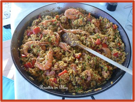 paella au barbecue5