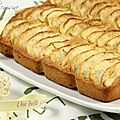 Financier gant aux pommes & au speculoos