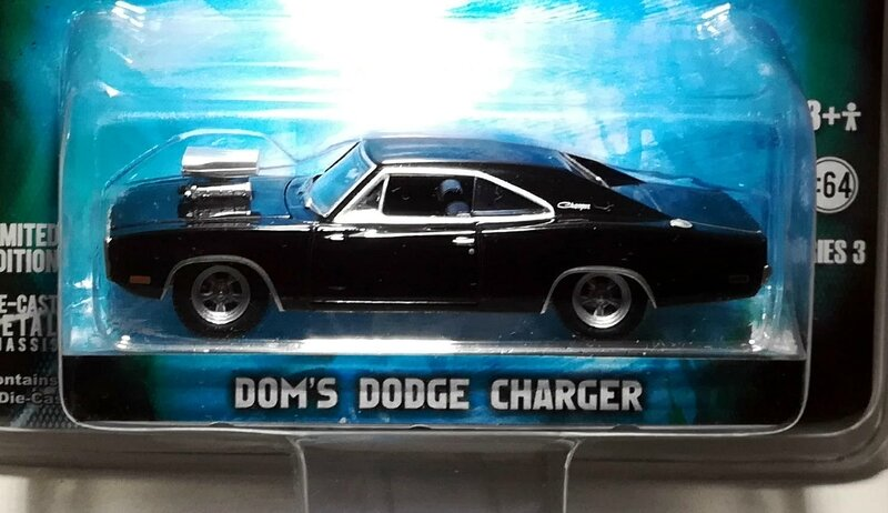 Dodge Charger de 1970 Dom's (Fast and Furious) Greenlight 01