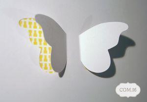 cadre papillons détail