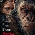 La planète des singes : suprématie de matt reeves