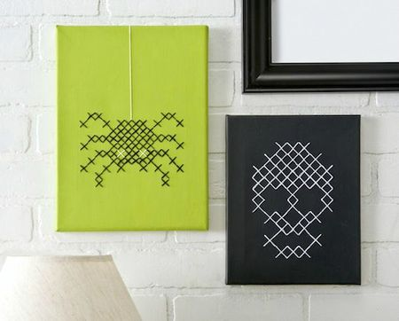 Halloween-Cross-Stitch-Canvases