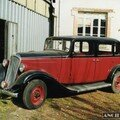 CITROEN Rosalie 11U - 1935