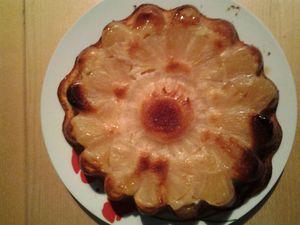 gateau a la creme ananas1