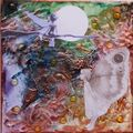 mixed media / art square / formats divers